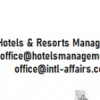 Hotels management